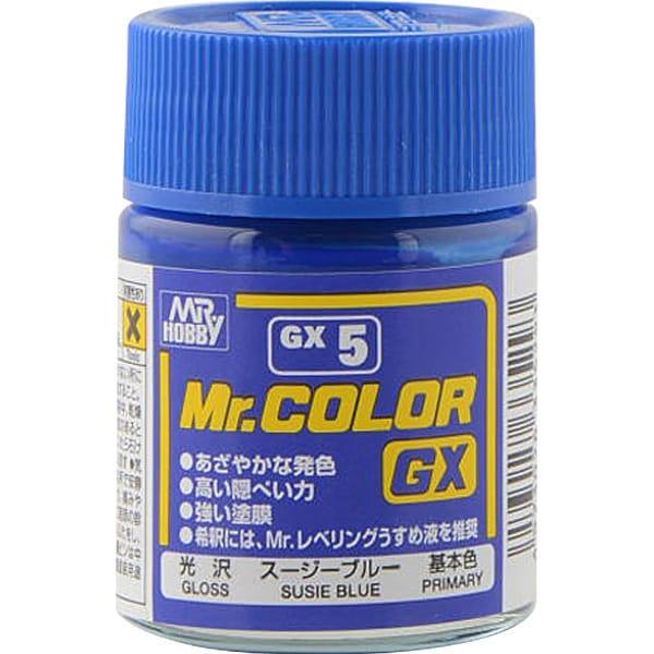 GX5 [Mr.カラーGX スージーブルー 光沢]