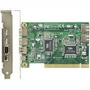 USB2.0V+1394V-PCI [PCI接続 インターフェースボード USB×4(内部2・外部2)ポート&IEEE1394×2(4pin×1・6pin×1)ポート]