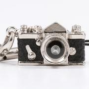 ミニチュアカメラストラップ [一眼革 ブラック]