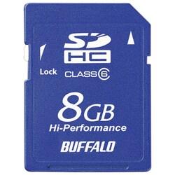 RSDC-G8GC6 [Class6対応 SDHCメモリーカード 8GB ブルー]