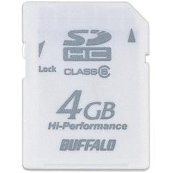 RSDC-G4GC6/WH [Class6対応 SDHCメモリーカード 4GB ホワイト]