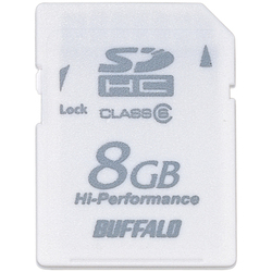 RSDC-G8GC6/WH [Class6対応 SDHCメモリーカード ホワイト 8GB]