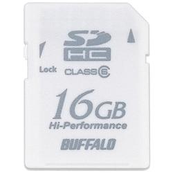 RSDC-G16GC6/WH [Class6対応 SDHCメモリーカード 16GB ホワイト]