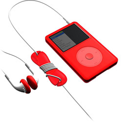 SUMLCSK80-RD (レッド) [iPod classic 80GB用 スターターキットセット] Loop classic Starter Kit