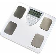 体脂肪体重計 BS-214-WT(ホワイト) 体組成計 ドクタースキャン