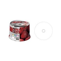 VHR12DP50H2 [録画用DVD-R 120分 1-8倍速 50枚 CPRM対応 インクジェットプリンター対応]