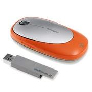 72288JP [Ci75m USB接続 ワイヤレス ノートブックマウス オレンジ]