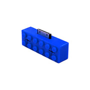 BB5002 [ブロック型スピーカー ブルー]