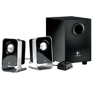 LS-21 [ステレオ2.1チャンネル PCスピーカー 2.1 Stereo Speaker System]