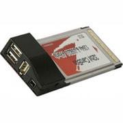 USB2.0N+1394T-CB [Cardbus32bit対応 マルチインターフェースカード USB2.0×2ポート IEEE1394×2ポート(4ピン・6ピン×各1)]