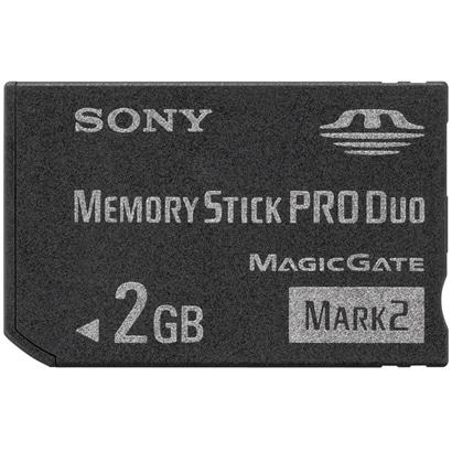 MS-MT2G [メモリースティックPRO Duo(デュオ) 2GB Mark2]