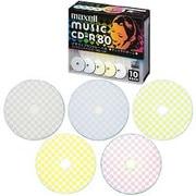 CDRA80PMIX.S1P10S [音楽用CD-R 80分 10枚 インクジェットプリンター対応]
