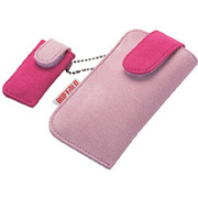 BSIRC01PK (ピンク) [プチケース付ICレコーダー用キャリングケース]