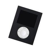 PNC-32 [第3世代 iPod nano用角型シリコンジャケット マットブラック]