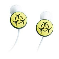 BZ01 [iPod用アップル社製純正イヤホン新旧両モデル可対応イヤホン・アクセサリー バイオハザード]