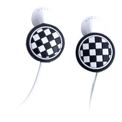 CB01 [iPod用アップル社製純正イヤホン新旧両モデル可対応イヤホン・アクセサリー チェッカーバド]