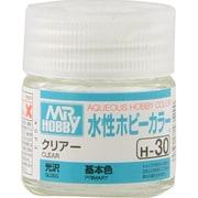 H-30 [水性ホビーカラー<水溶性アクリル樹脂塗料> クリアー 光沢]