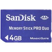 SDMSPD-4096-J95 [メモリースティックPRO Duo(デュオ) 4GB]
