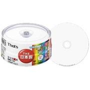 DR-C12WKY30BN [録画用DVD-R 120分 1-16倍速 30枚 インクジェットプリンタ対応]