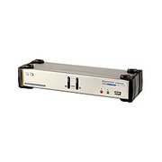CS1782 [USB2.0接続 DVI対応 KVMスイッチ 2ポートUSBハブ搭載]