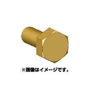 ANE0009 六角ボルトヘッドM 真鍮製 45個 [ボルトヘッドシリーズ]