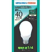 電球形蛍光灯 EFA10EN9SP スパイラルピカミニ A形・E26口金(昼白色) 40W電球タイプ