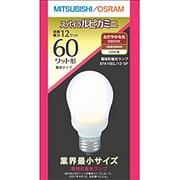 電球形蛍光灯 EFA15EL12SP スパイラルピカミニ A形・E26口金(電球色) 60W電球タイプ