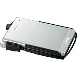 LHD-PBF250FU2SV [IEEE1394/USB2.0対応 耐衝撃ポータブルハードディスク 250GB]