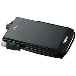 LHD-PBF250U2BK [USB2.0対応 耐衝撃ポータブルハードディスク 250GB ブラック]