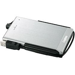 LHD-PBF320U2SV [USB2.0対応 耐衝撃ポータブルハードディスク 320GB シルバー]