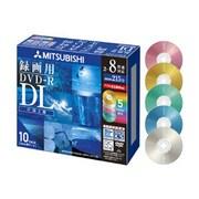 VHR21HDSM10 [録画用DVD-R DL 215分/8.5GB 片面2層 2-8倍速対応 10枚]