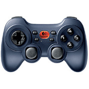 GPW-600DB [USB接続 コードレス ゲームパッド ダークブルー Cordless Rumblepad 2]