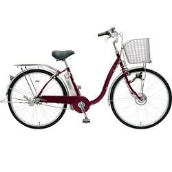 CY-SPF26D [電動アシスト自転車(26型) ワインレッド エナクル]