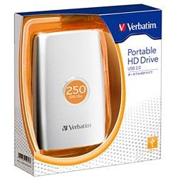 HDPU250GVS [USB接続 ポータブルHDD 250GB]