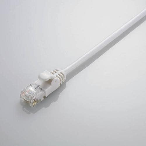 LD-GPY/WH5 [CAT6準拠 Gigabit やわらかLANケーブル ヨリ線 ホワイト 5m]