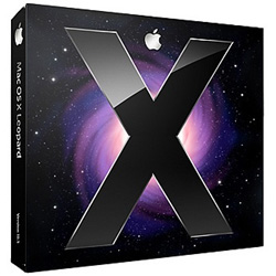 MB577J/A [Mac OS X 10.5.4 Leopard ファミリーパック]