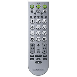 ATV-561D [テレビ/ケーブルテレビ/DVDプレーヤー/ビデオ再生専用リモコン]