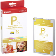 E-P20G Easy Photo Pack [ポストカードサイズ 金印刷対応/20枚 SELPHY用]