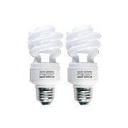 EFD15ED12HS2P [電球形蛍光灯 スパイラルピカファン E26口金 3波長形昼光色 D15形(12W) 2個入]