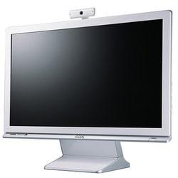 M2200HD [21.5型ワイド 液晶モニター デジタル/アナログ接続 グロッシーホワイト]