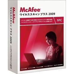 マカフィー・マカフィー・ウイルススキャンプラス 2009 1ユーザー版 [Windowsソフト]