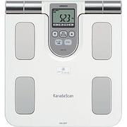 HBF-370-W [体脂肪体重計 ホワイト カラダスキャン]
