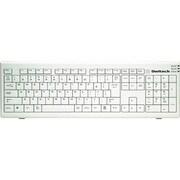 OWL-KB109STD(W)/KN [USB・PS/2接続 カナ無し日本語109キーボード タテ置きスタンド付き ホワイト]