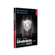 Undelete 2009 日本語版 Server Upgrade [Windowsソフト]