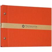 TER-A5F-120-R [Terracotta(テラコッタ)シリーズ 外ビス式フリーアルバム A5サイズ レッド]
