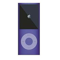 MIPSK-NANO4HD [4th iPod nano用シリコン素材ジャケット型プロテクター nanoSkin4 パープル]