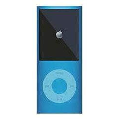 MIPSK-NANO4BL [4th iPod nano用シリコン素材ジャケット型プロテクター nanoSkin4 ブルー]