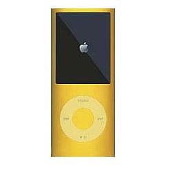 MIPSK-NANO4YL [4th iPod nano用シリコン素材ジャケット型プロテクター nanoSkin4 イエロー]
