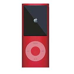MIPSK-NANO4RD [4th iPod nano用シリコン素材ジャケット型プロテクター nanoSkin4 レッド]