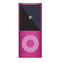 MIPSK-NANO4PK [4th iPod nano用シリコン素材ジャケット型プロテクター nanoSkin4 ピンク]